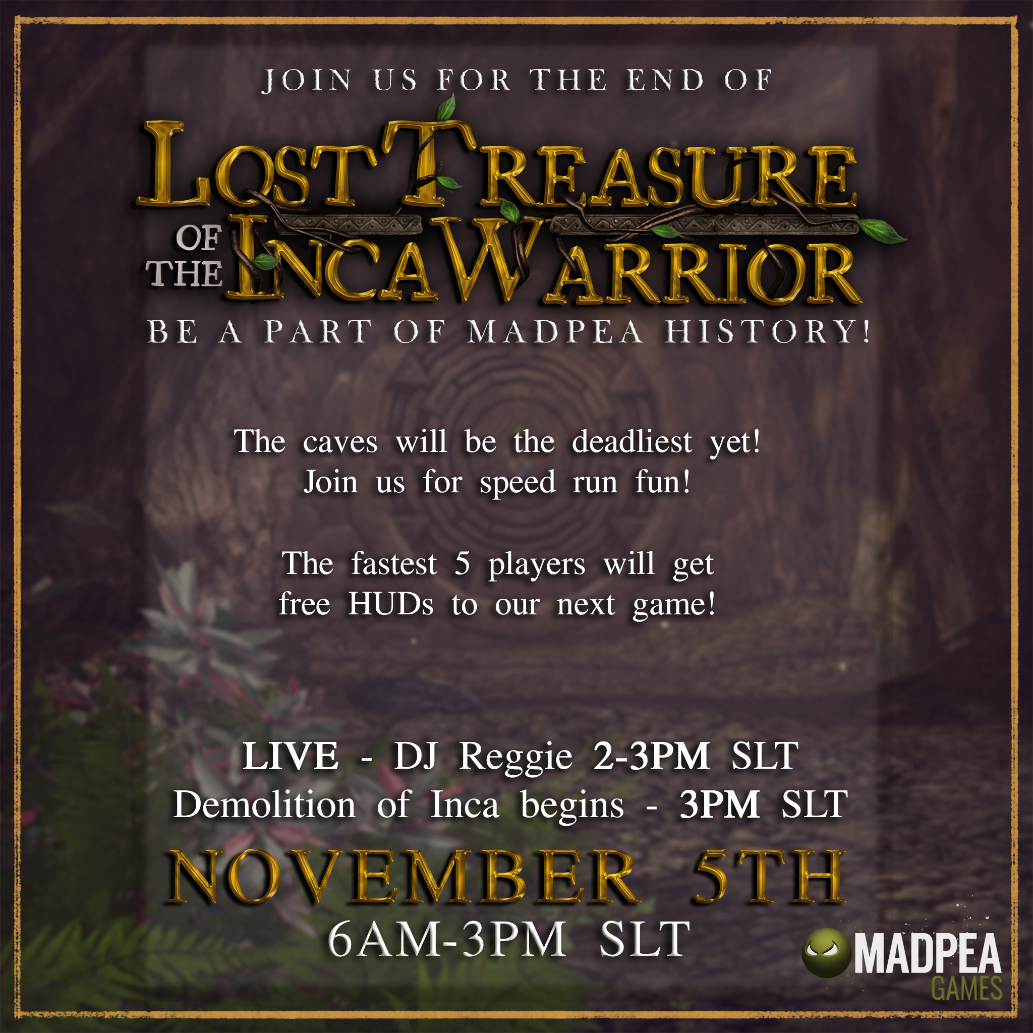 Lost Treasure of the Inca Warrior Demolition Party!