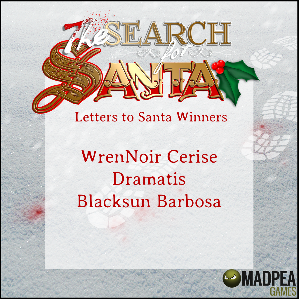 The Letters To Santa Contest Winners MadPea Productions
