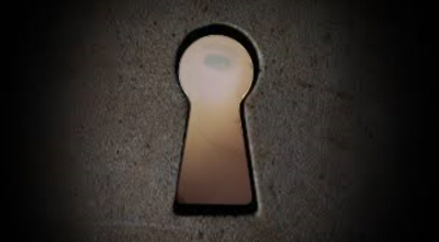 Through the keyhole…