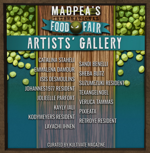 Drool over scrumptious art at Food Fair!
