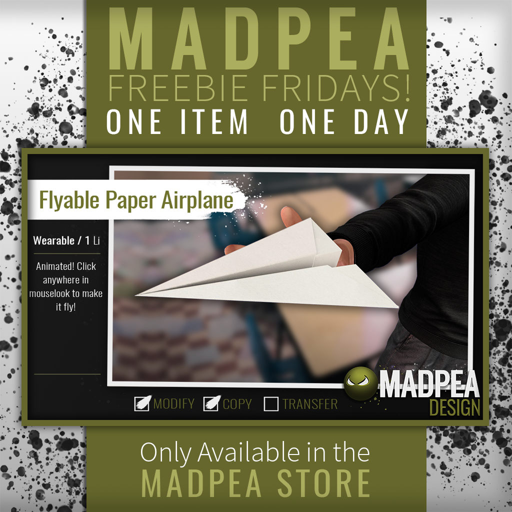 Fly a Free Paper Airplane on National Paper Airplane Day!