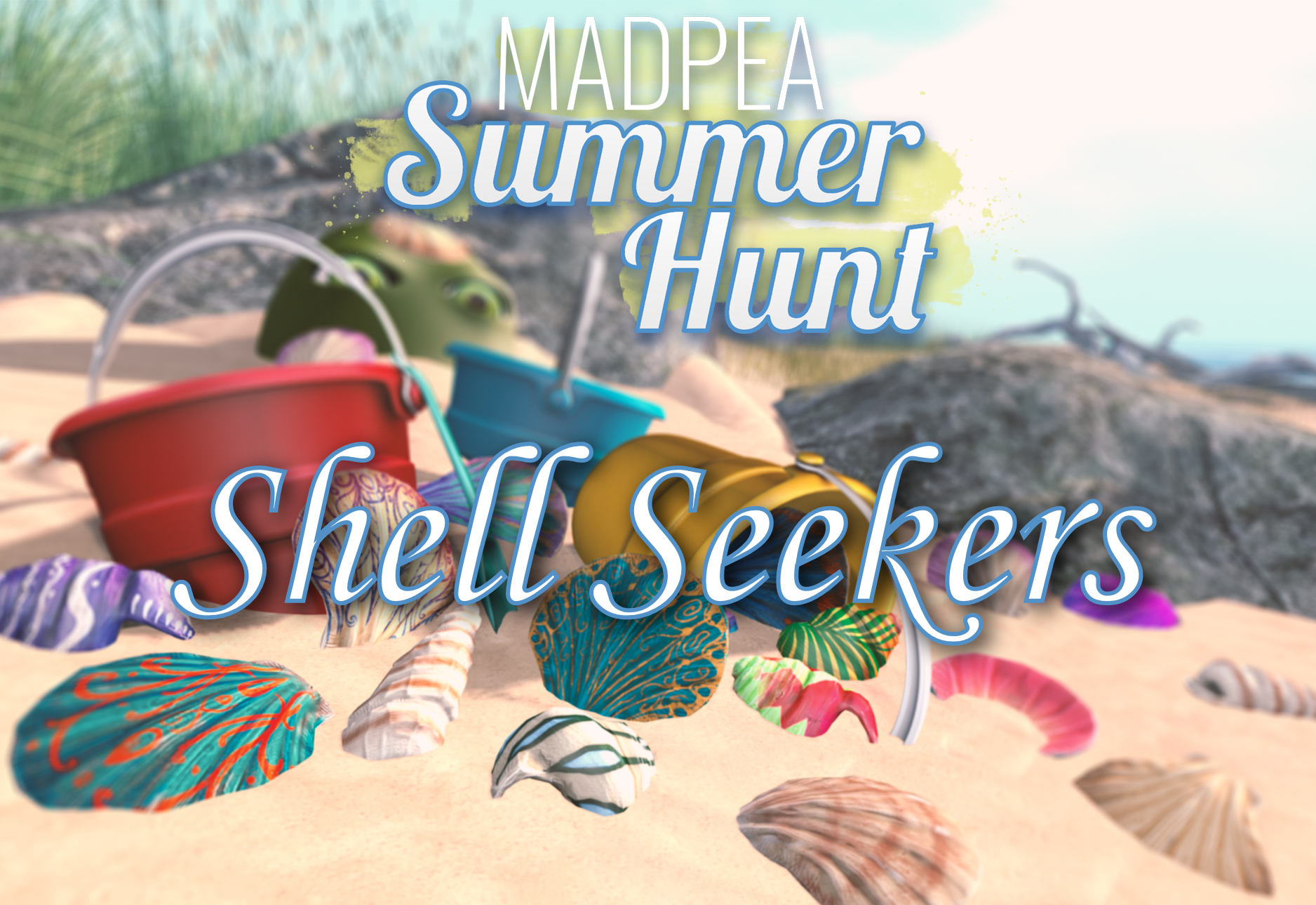 MadPea Summer Hunt – The Shell Seekers!