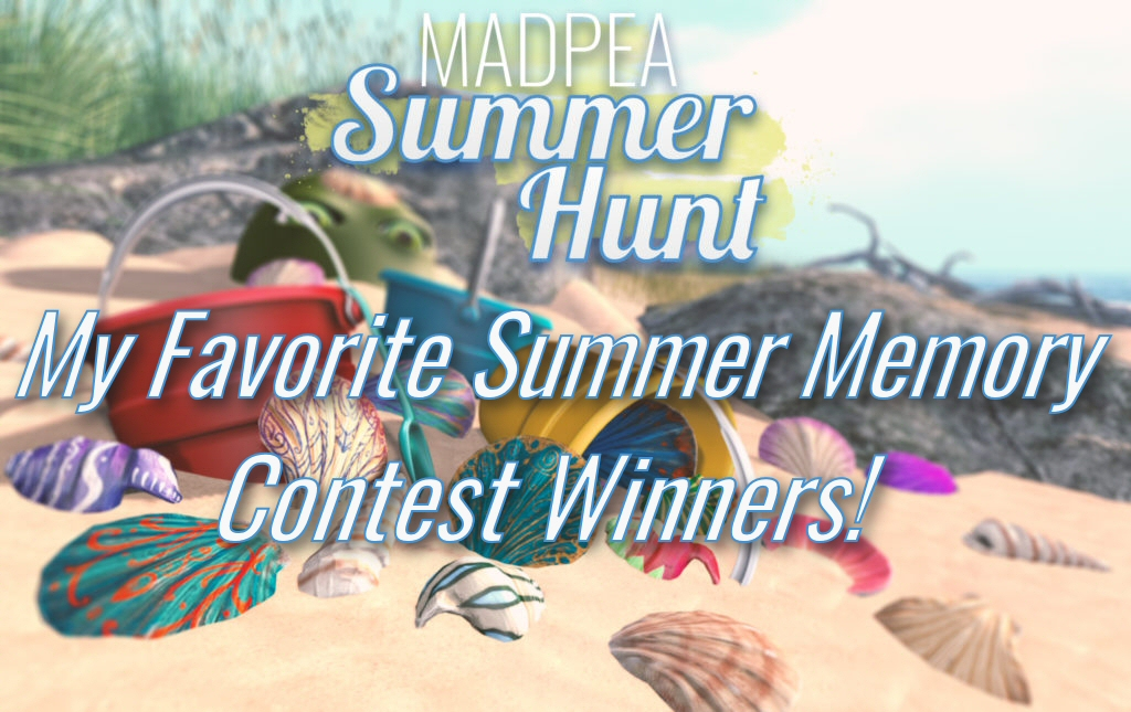 """My Favorite Summer Memory"" Contest Winners!"