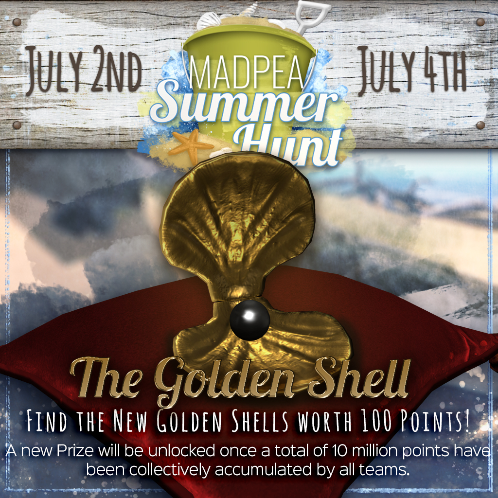 Summer hunt Golden Shell Madness Begins June 21st