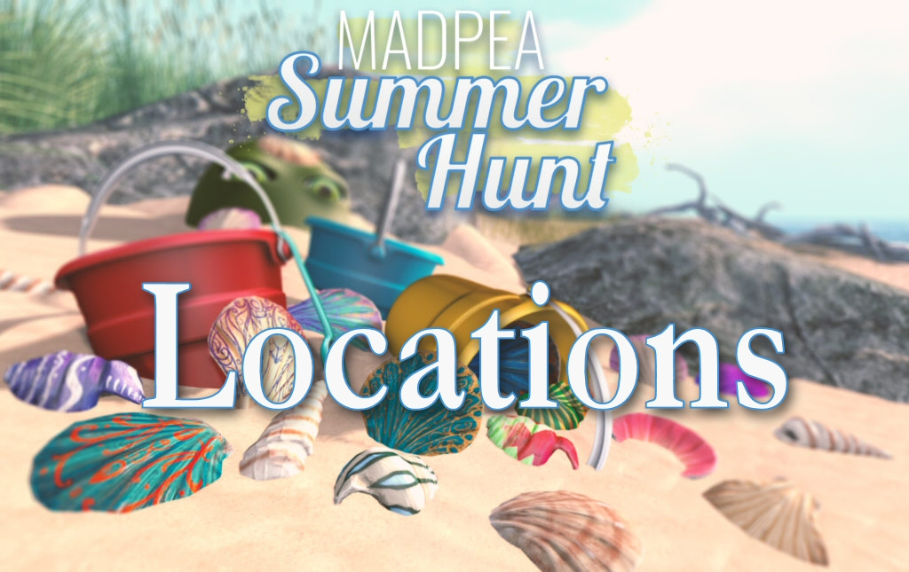MadPea Summer Hunt – Locations!