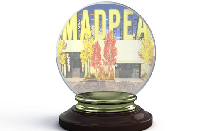 Madpea ghost town prizes for ugly sweater