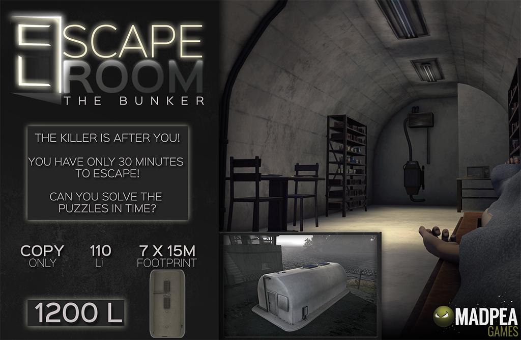 The Escape Room Bunker Is Here!