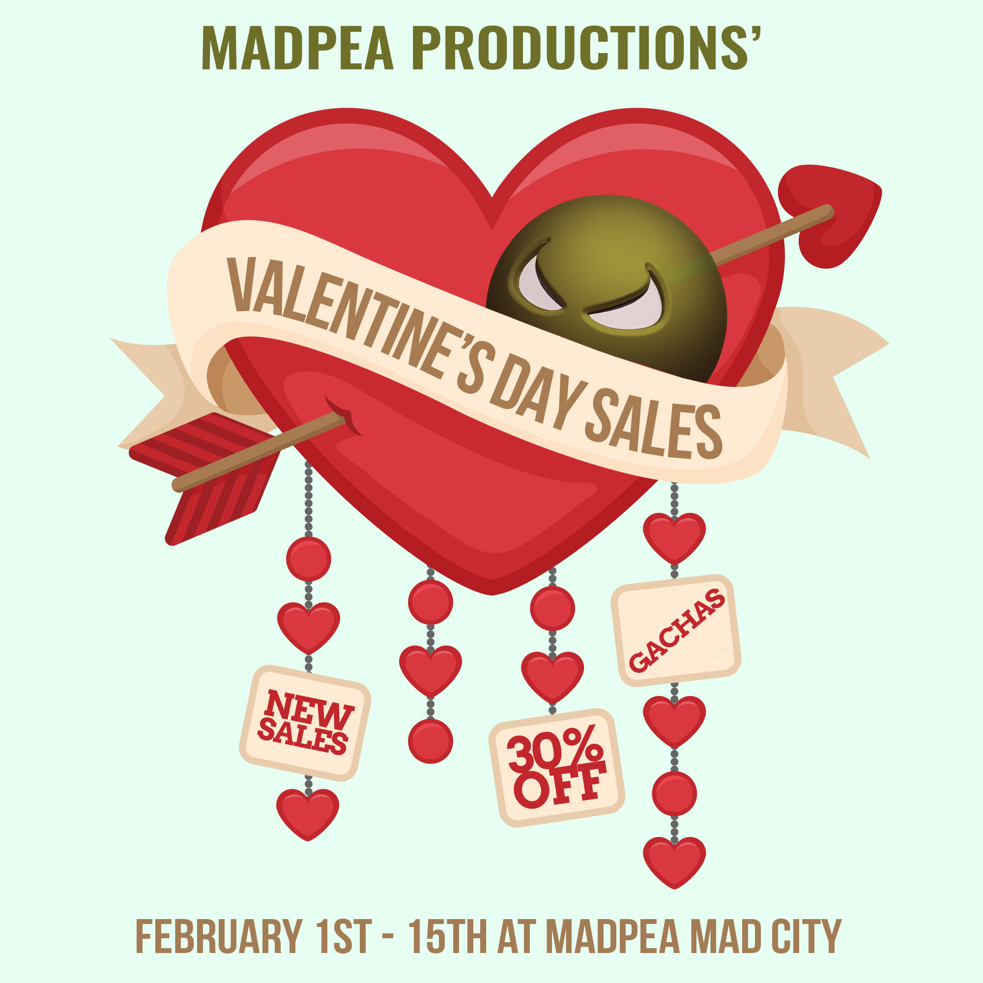 Love and Peas – St Valentine's Day is coming!