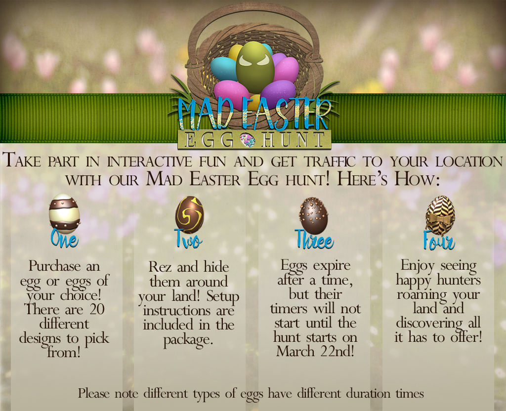 Get Involved in the Annual Mad Easter Egg Hunt