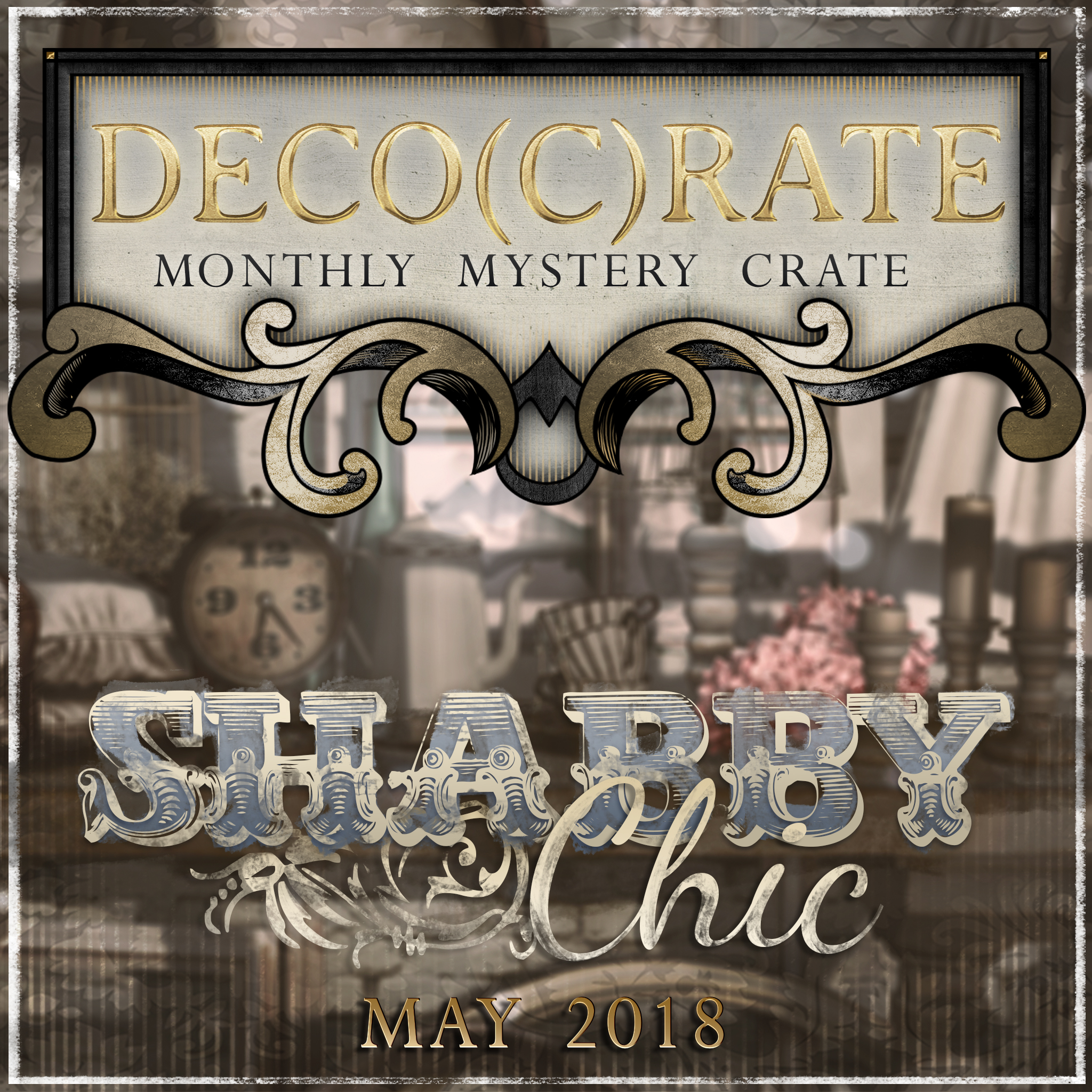 Deco(c)crate is (shabby) Chic!
