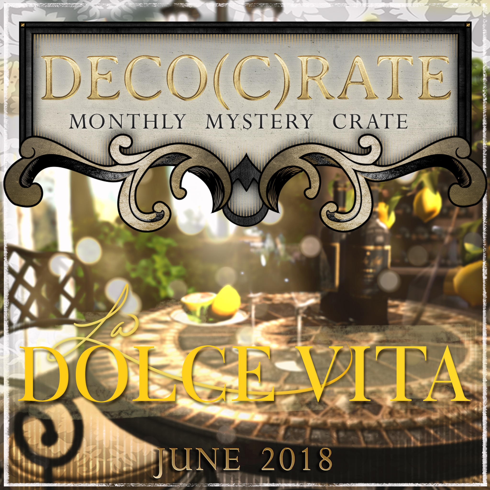 Deco(c)rate celebrates La Dolce Vita!