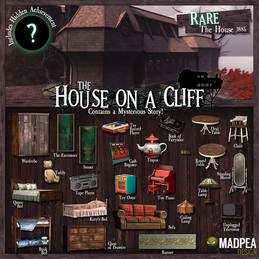 Mini Gacha Mysteries: The House on a Cliff