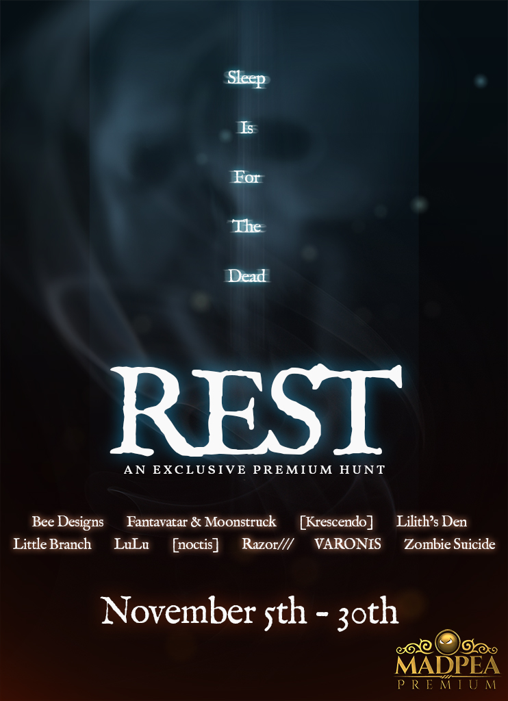 MadPea Alliance Presents… REST!