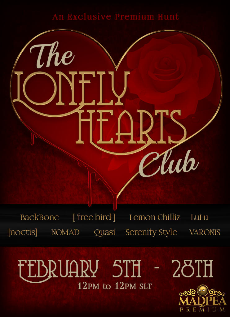 MadPea Alliance Presents The Lonely Hearts Club