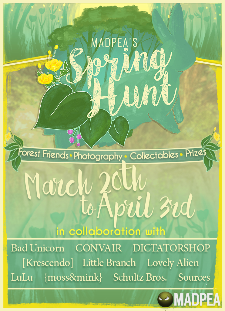 2019 Spring Hunt Sim Showcase