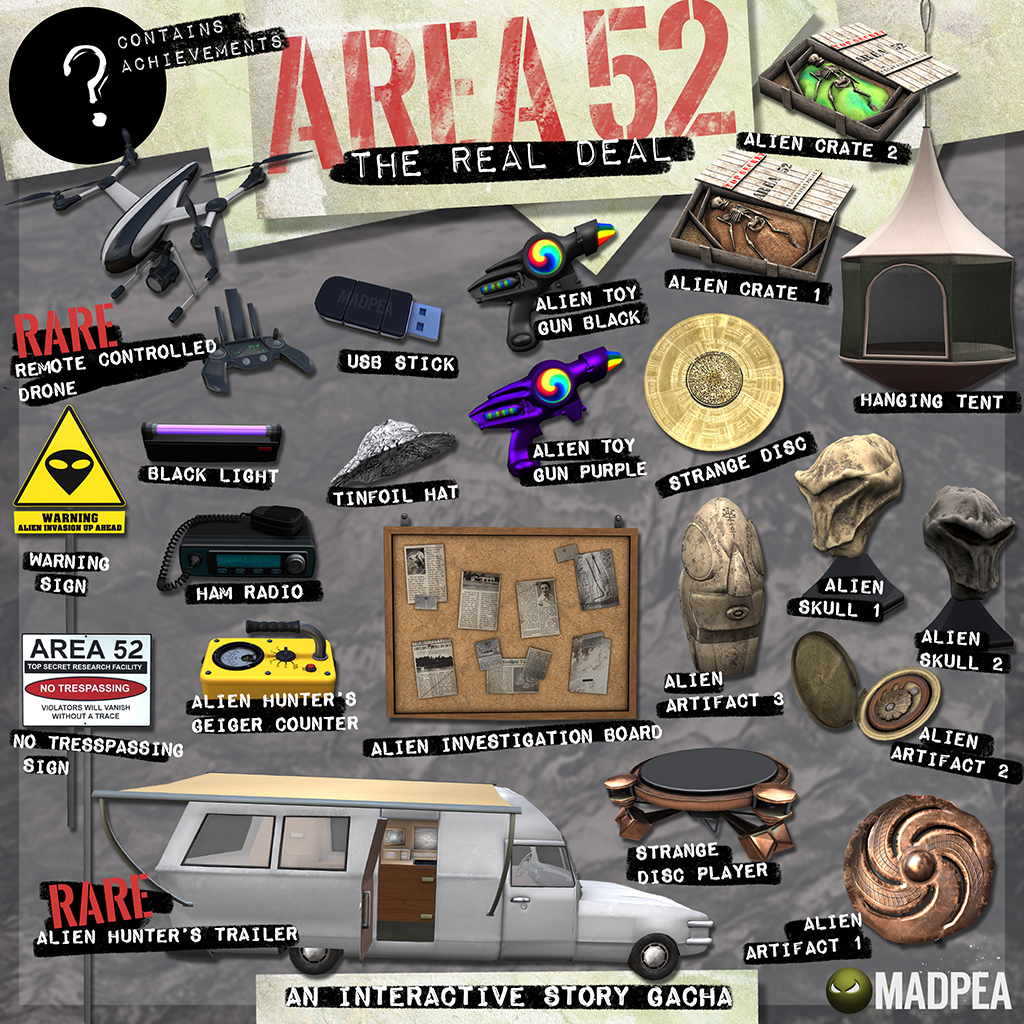 MadPea's Area 52 @ {NOW in the Mad City Store!}