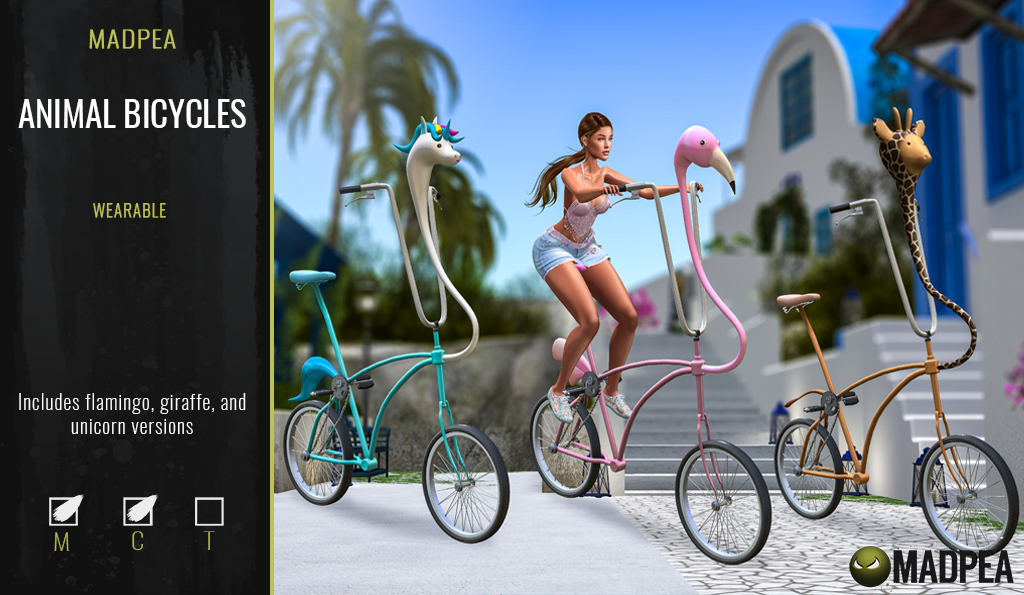 MadPea Animal Bicycles!