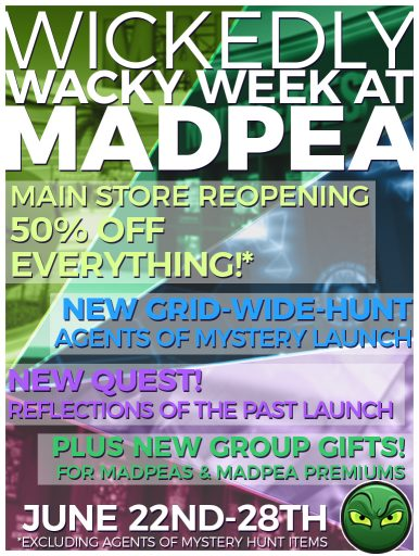 MadPea Wickedly Wacky Week!