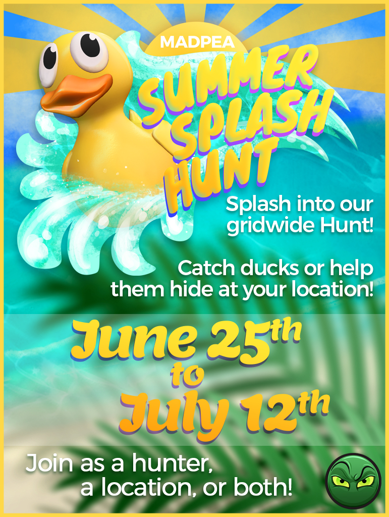 More Duck Locations in the MadPea Summer Splash Hunt!